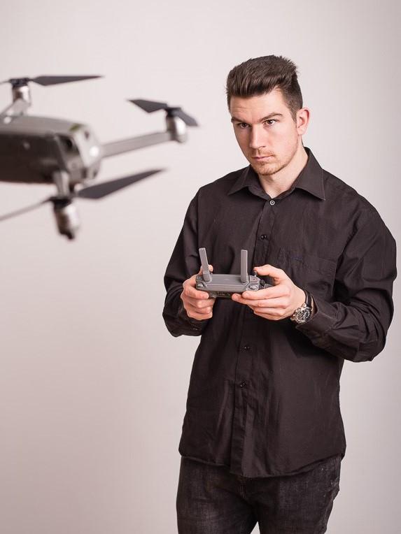 Drohne Hochzeit